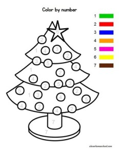 Christmas Themed Worksheets for Pre-K - Clever Homeschool