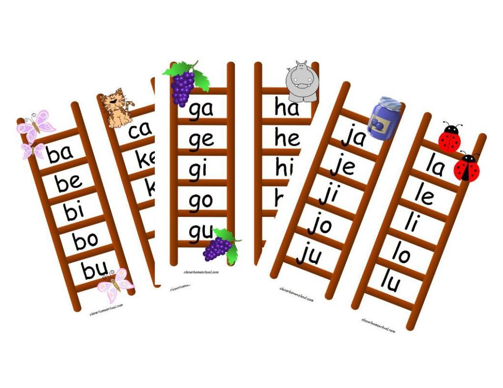 blend ladders for preschoolers